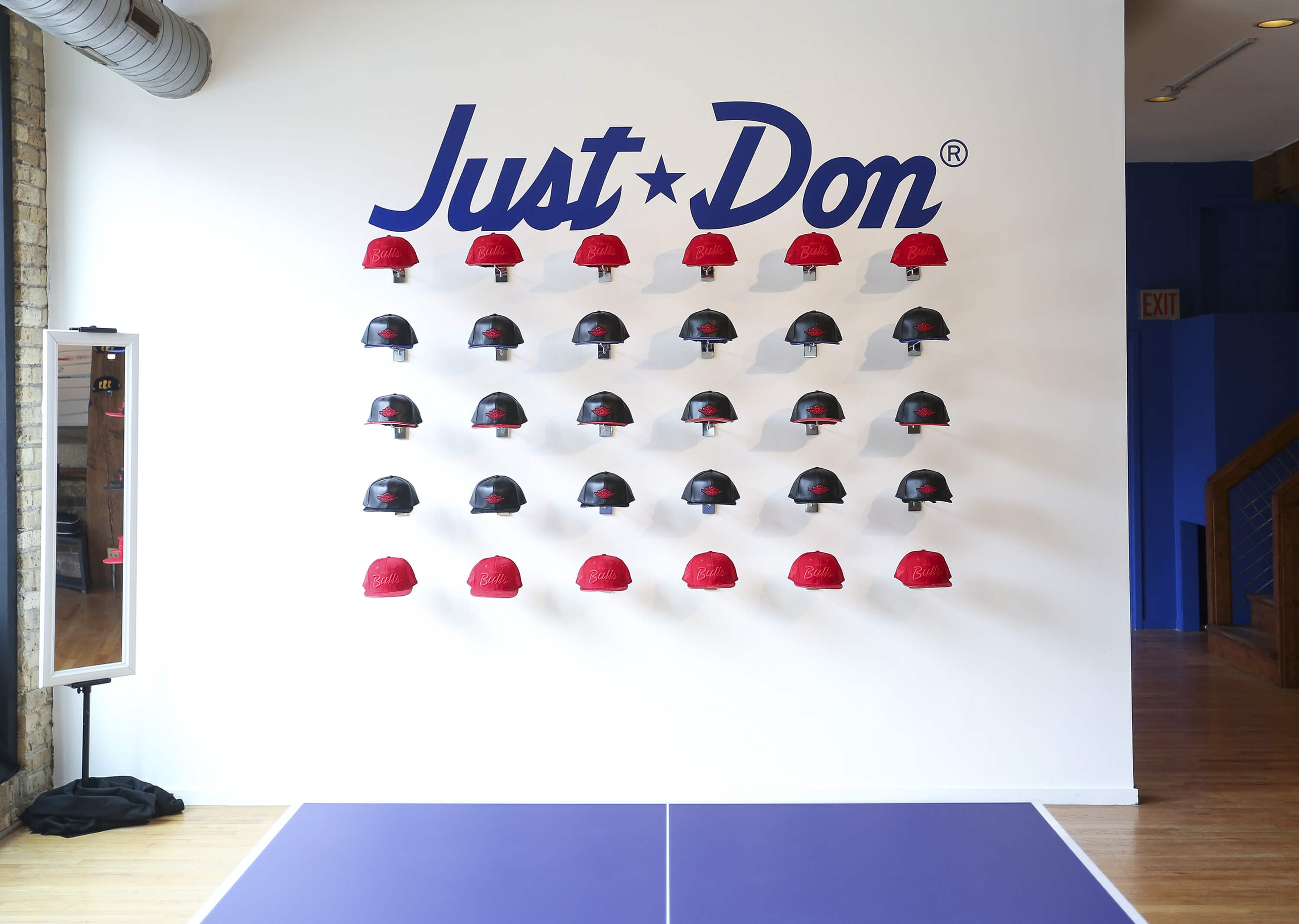 JUST DON JORDAN 2 POP UP SHOP