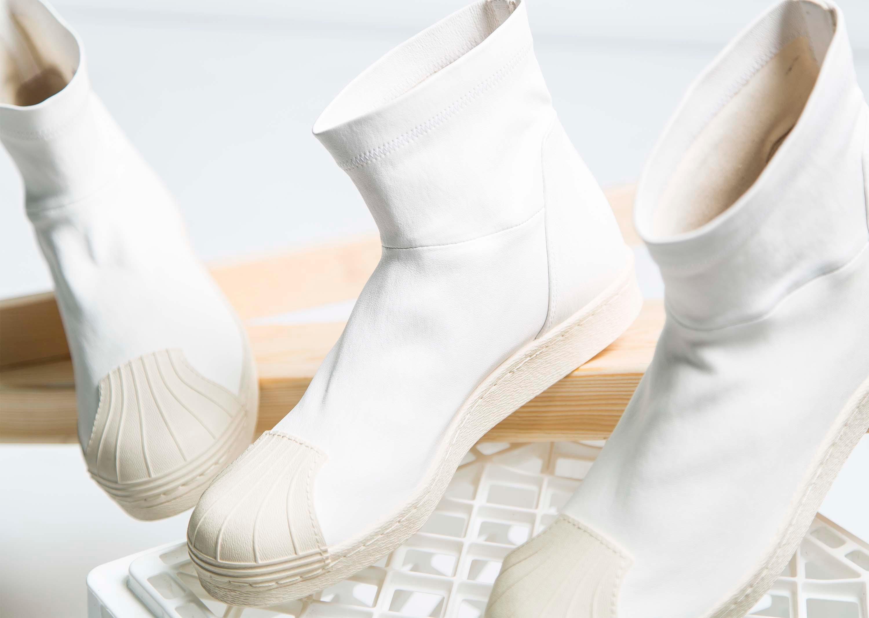 Rick Owens Adidas Superstar Boots