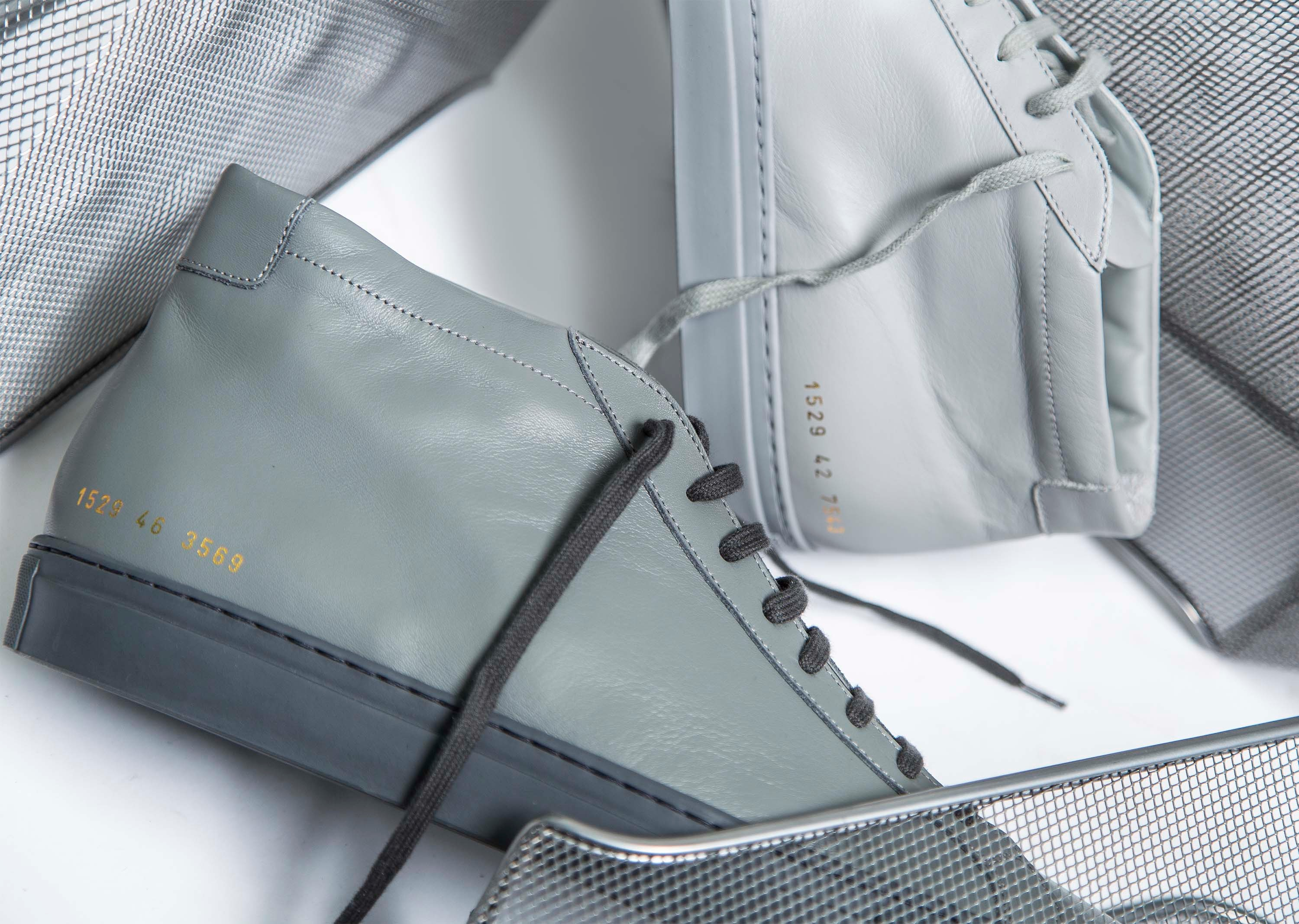 Common Projects Achilles High Grey