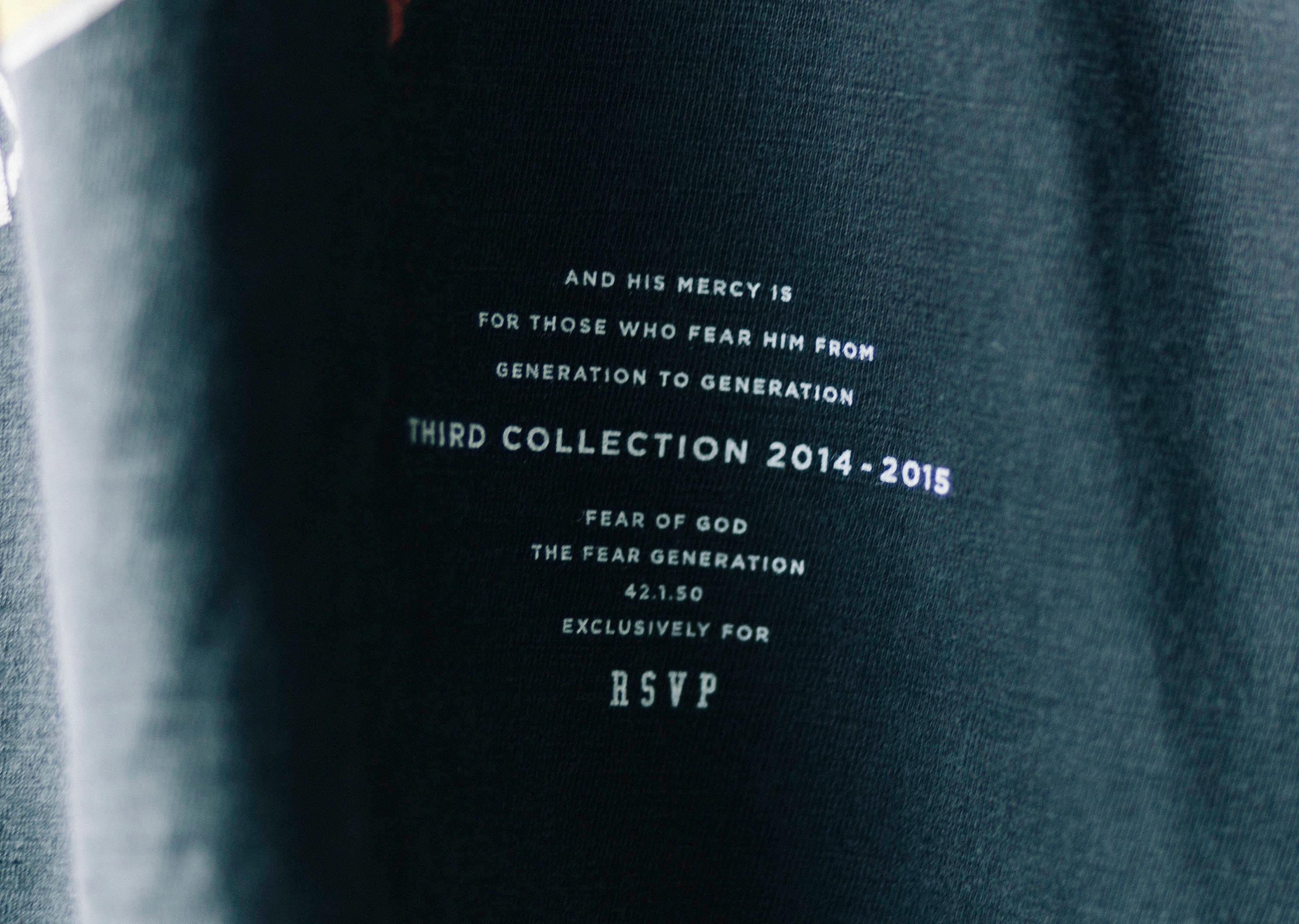 RSVP Gallery Fear of God