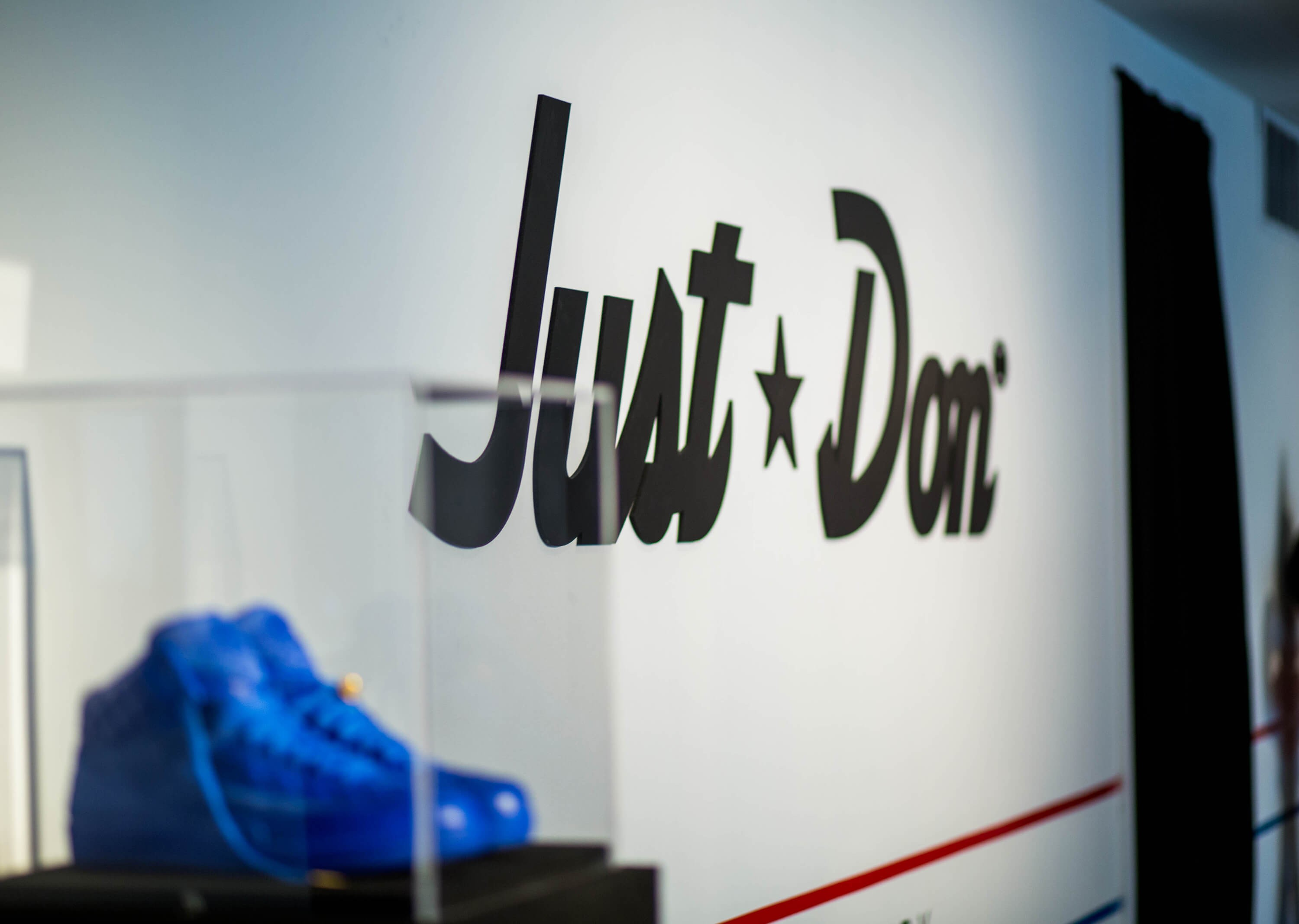 JUST DON JORDAN POP UP SHOP