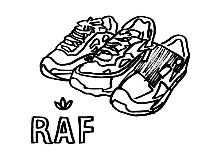 Raf Simons x Adidas