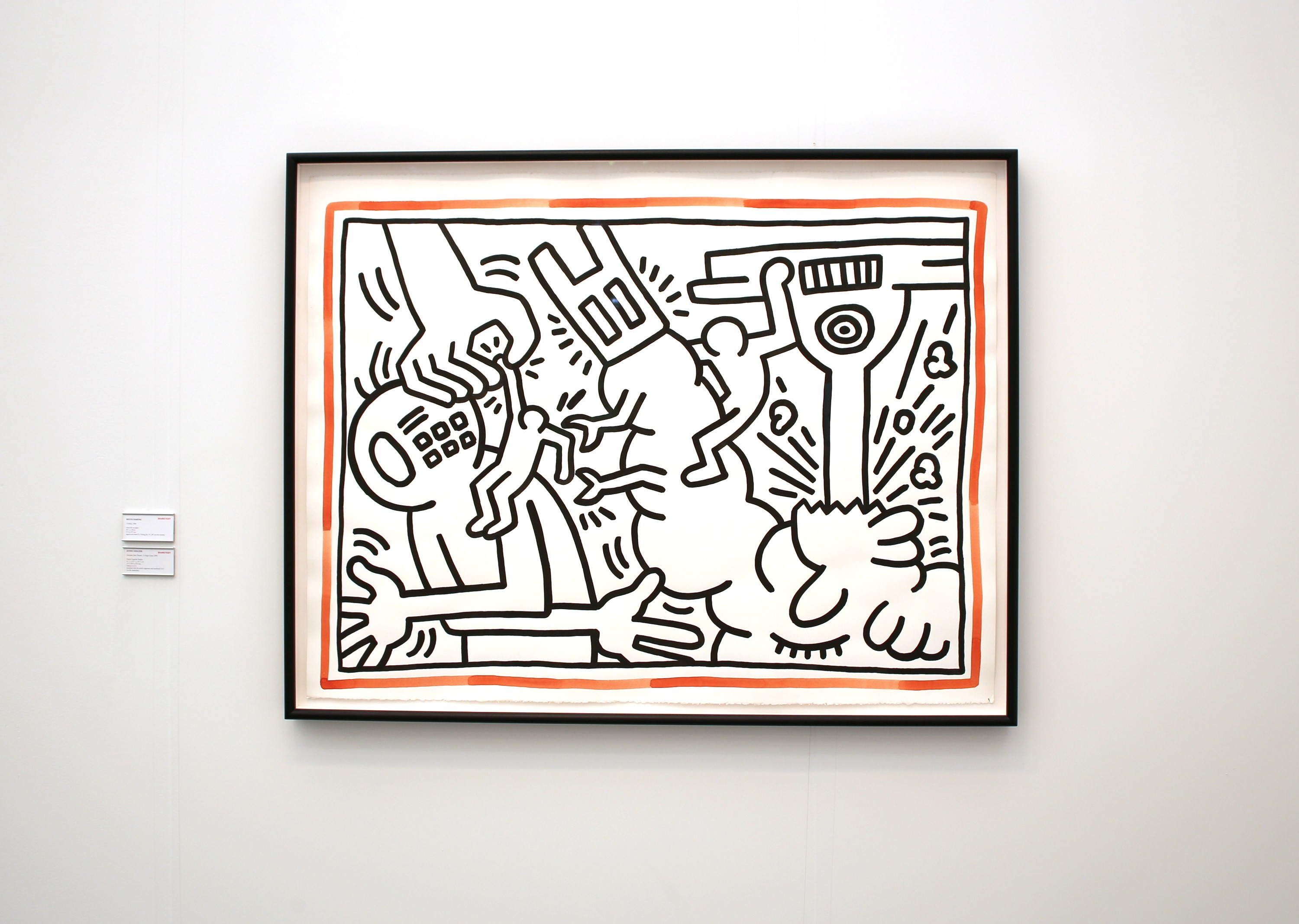 frieze art fair keith haring